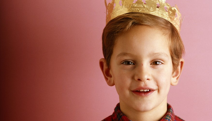 Turn your little guy into a little king with the right costume.