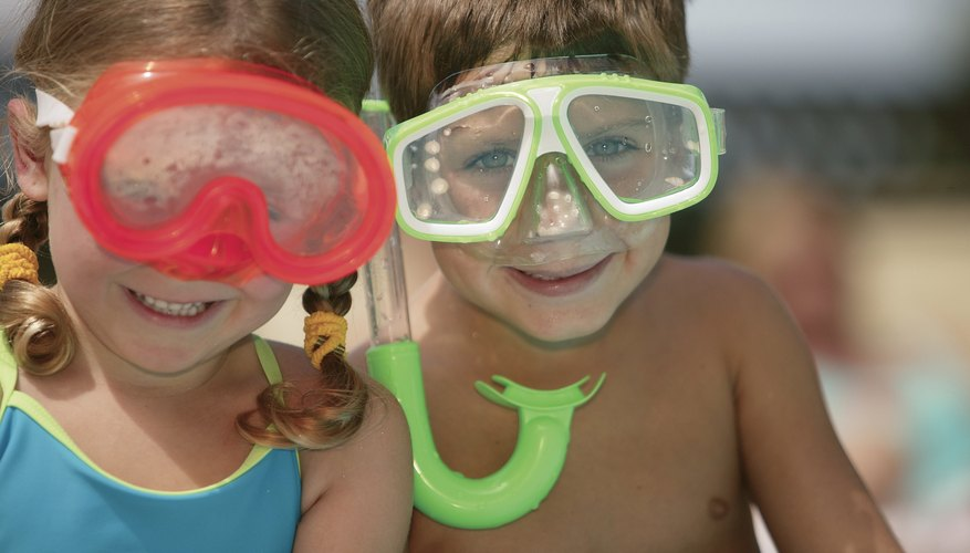 Snorkeling is for the whole family.