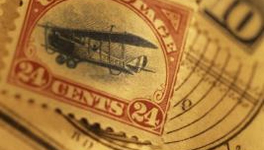 Learn tips for finding the value of U.S. postage stamps.