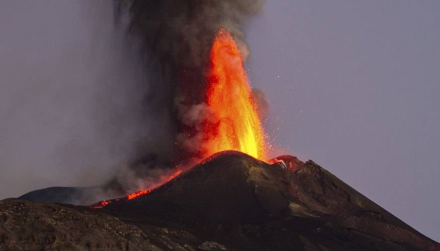 Italy's Mount Etna is one of the world's most vigorous volcanoes.