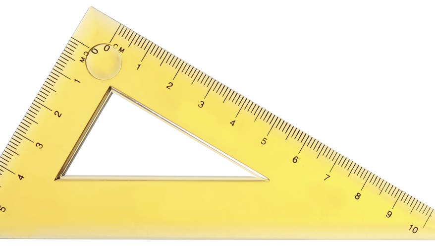 A right triangle has one 90-degree angle.