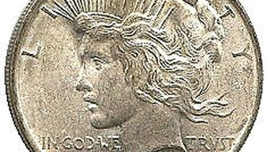 1964 D Peace Dollar-Never Issued!