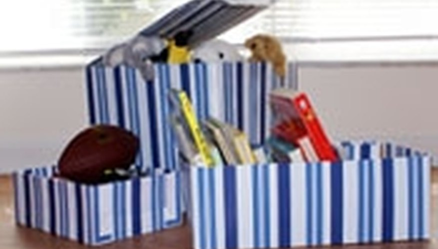Make a Toy Box From Cardboard