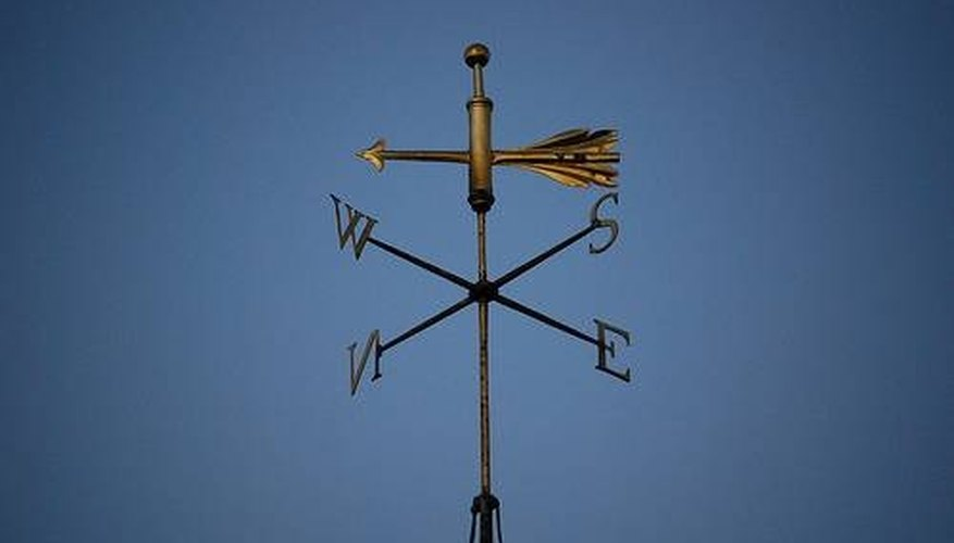 How to Make a Simple Weather Vane for Cub Scouts | Sciencing