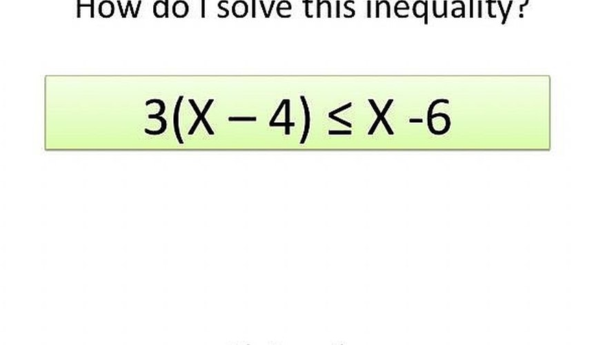 How do I solve this inequality?