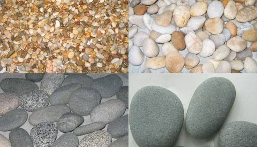 Choose the color of your pebble patio