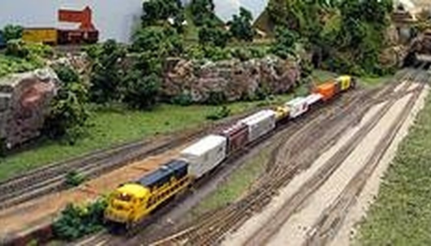2006 Tennessee State Fair model train exhibit