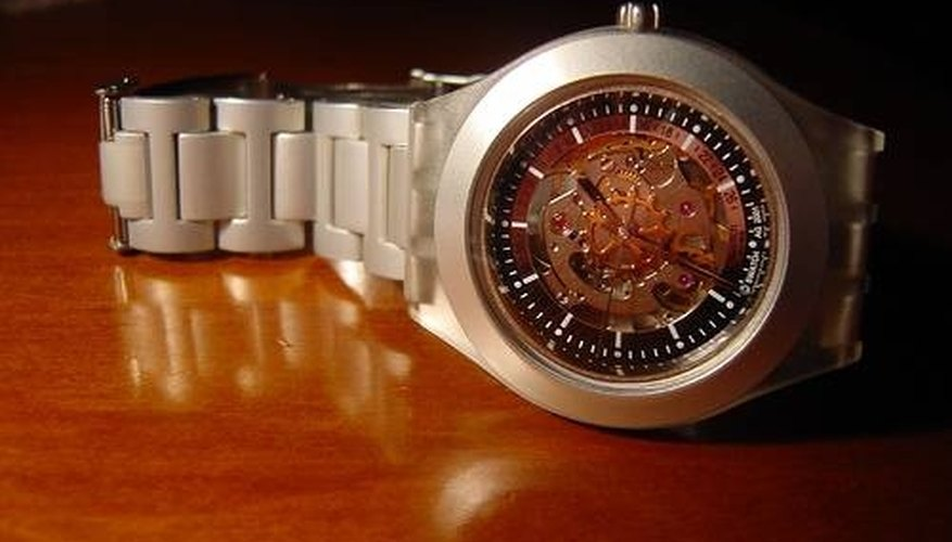 How Kinetic Watches Work