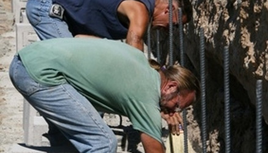 Use steel rebar to reinforce your walls.