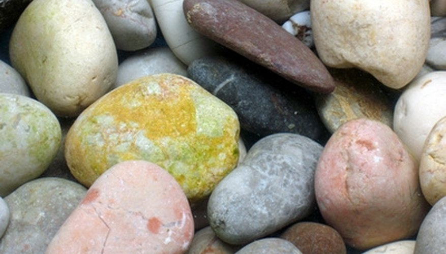 You can add color but still keep it natural with rocks and pebbles.