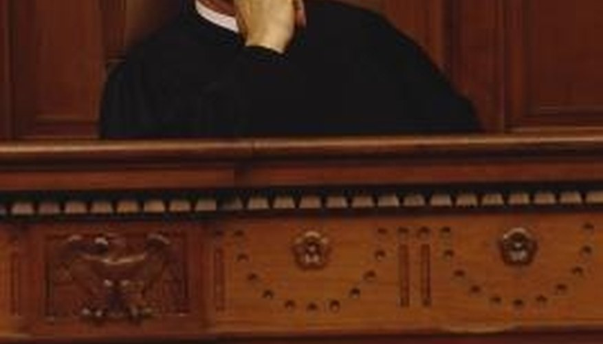 Alabama circuit, or trial, courts can hear lawsuits challenging wills.
