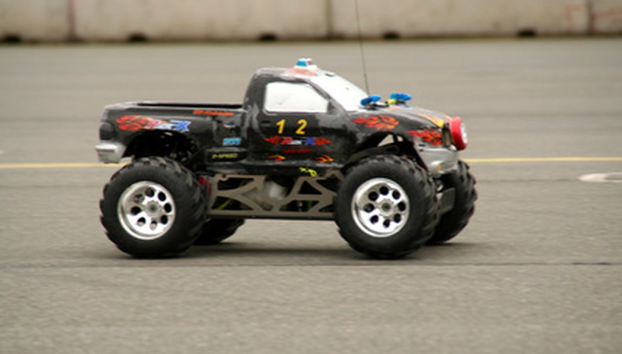 RC cars come in all shapes and sizes.