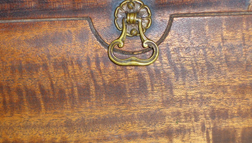 Wood grain and color tell a lot about the history of furniture.