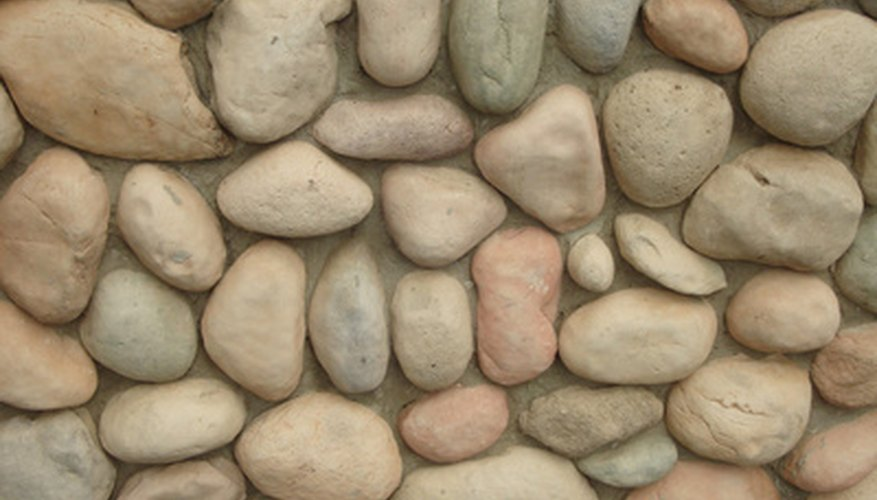 The density of a rock can be measured by its mass divided by its volume.
