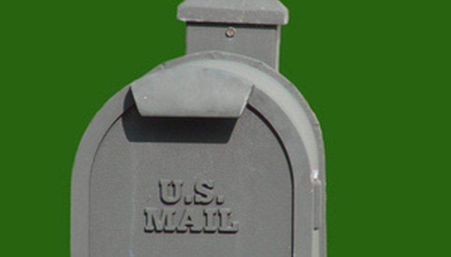 Make a swivel mailbox post to safely access your roadside mailbox.