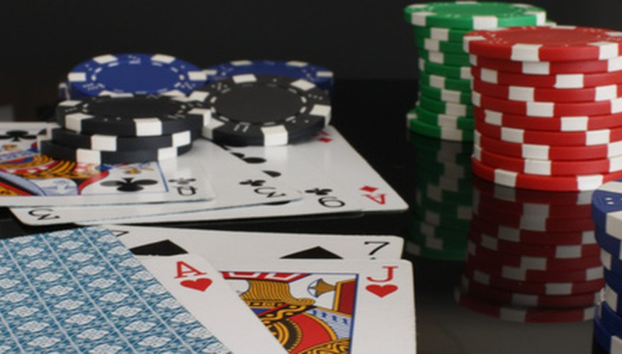 Poker is a card game that can be intimate between players.