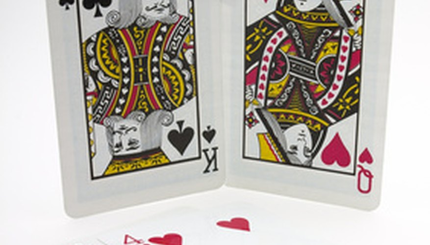 Various card games can enhance romance between couples.