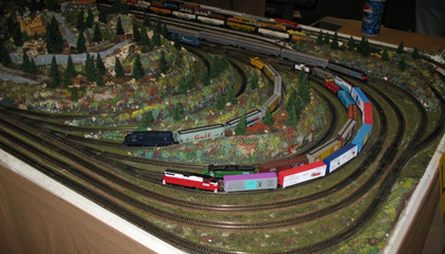 The first step in collecting model trains is to determine the desired scale to collect.