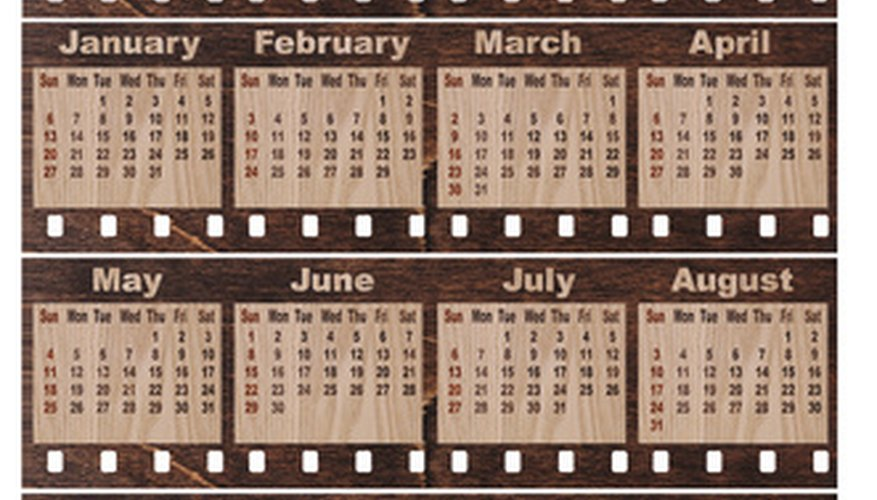 Xs Calendar April : How to convert the julian date a calender sciencing