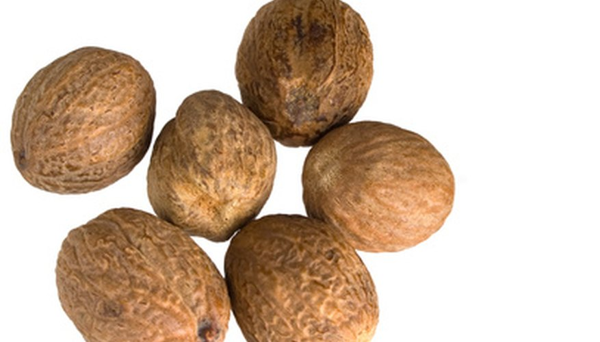 Nutmeg is actually two spices in one.