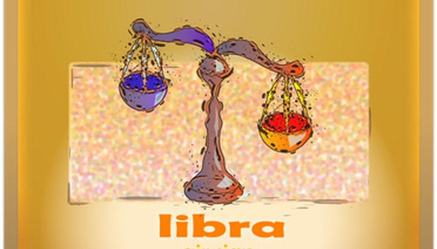 The Libra scales represent balancing two opposing options.