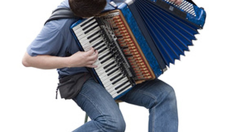 Accordions come in many shapes, sizes and styles.