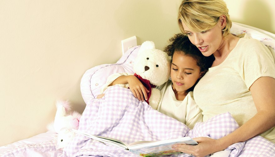 Establishing a bedtime routine with your child can put a stop to tantrums.