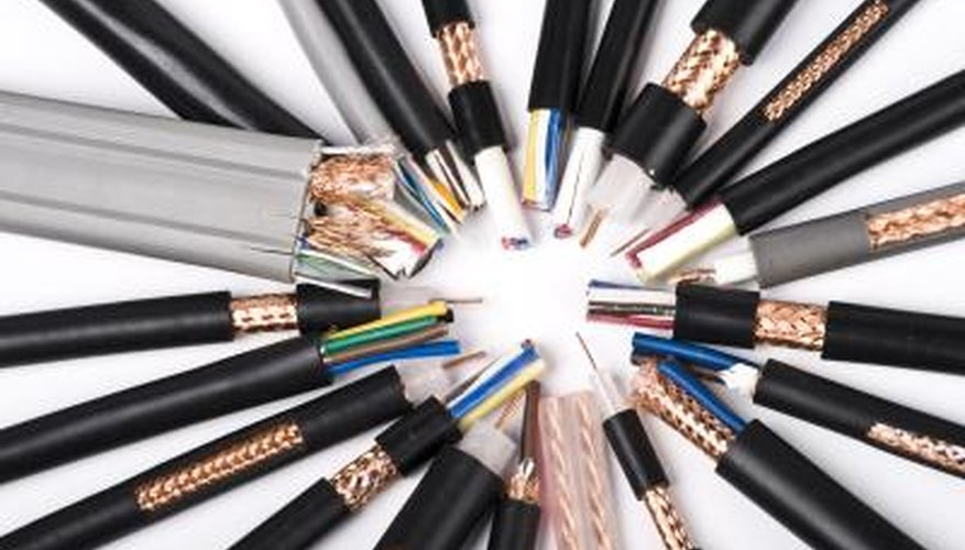 There are many different types of electrical cables.