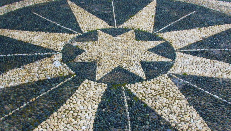 Mosaics allow you to incorporate designs into your garden pathways.