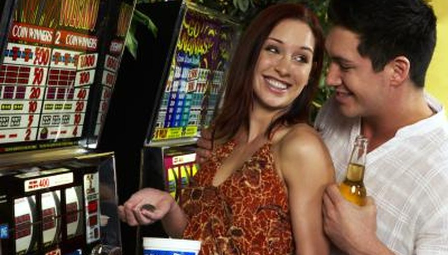 There are ways to improve your luck at a slot machine.