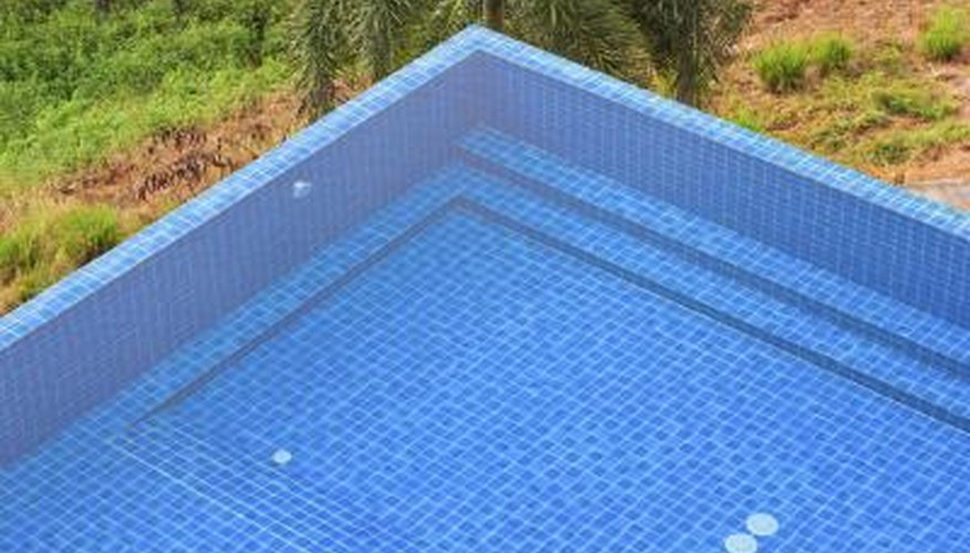 Measure the swimming pool's total alkalinity.