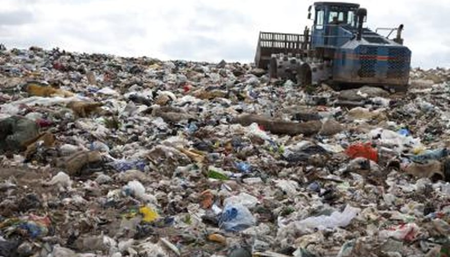 HDPE does not biodegrade in landfill settings