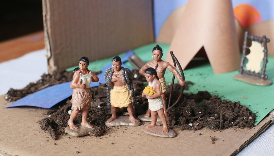 How To Create An Indian Tribe Diorama Sciencing