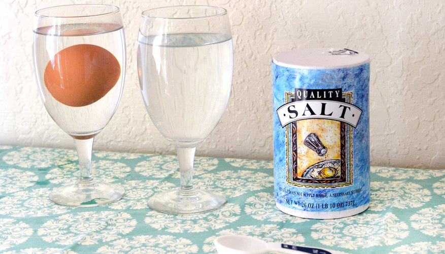 Does An Egg Float In Salt Water 47