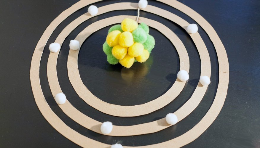 Materials Needed To Build An Atom Model