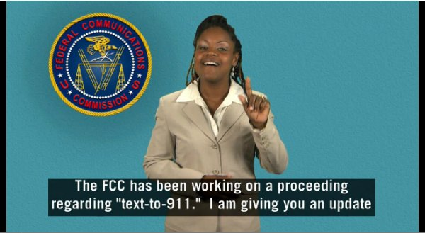 The FCC brokered an agreement among the major cell carriers.