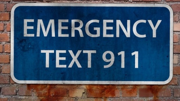Texting for emergencies? Yes, but ....