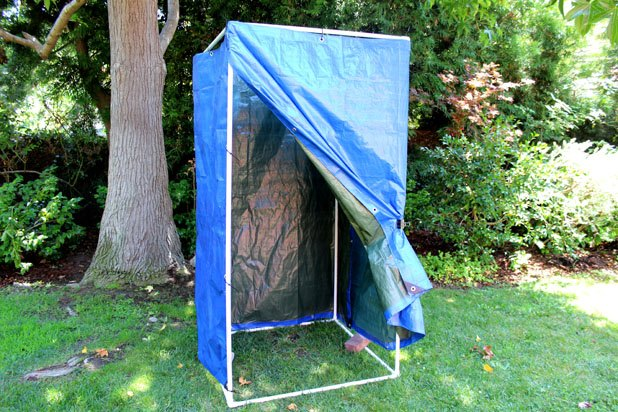 How To Make A Homemade Camping Shower With Pictures Ehow