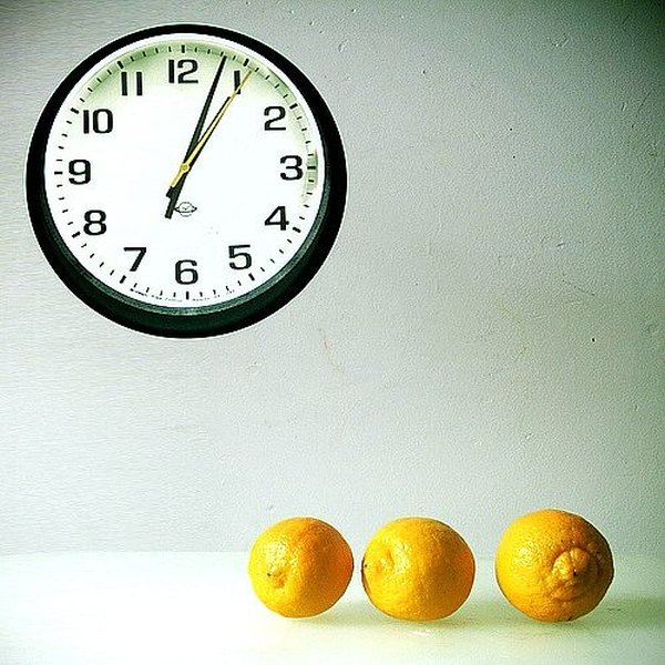 Who knew lemons could tell time?