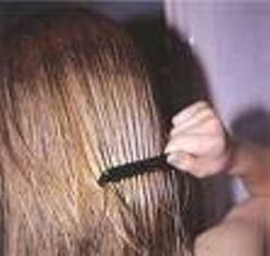 how to part your hair in a zigzag with pictures ehow