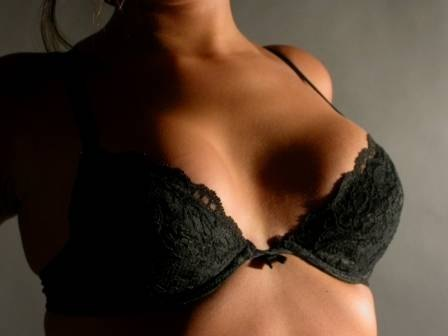 How Does a Woman Make Her Breasts Look Smaller?