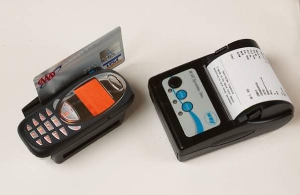 portable credit card