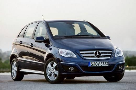 The MPV B-Class Mercedes is the junior version of the A-Class.