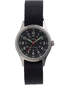 A no-frills Timex military watch