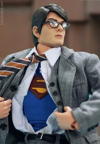 Clark Kent as Superman doll
