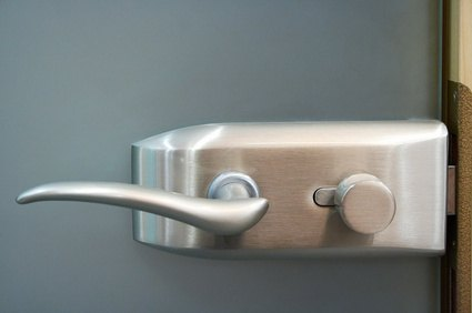 Interior door locks give you privacy.