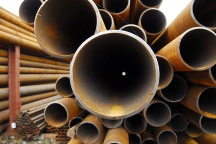 There are a variety of standard pipes available at hardware stores from which to choose.