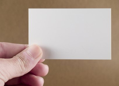 An example of a well-sized index card to use.