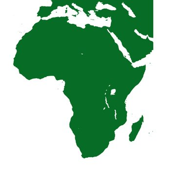 Africa is the world's second largest continent.