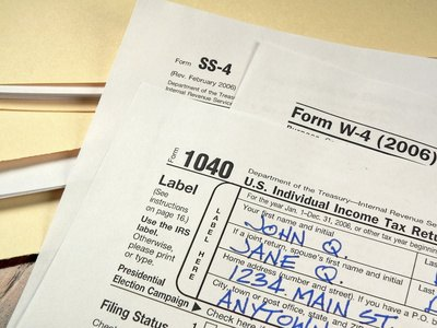 Information on a person's tax return can be found by various methods.